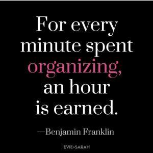 Bullet Journal Quote - Benjamin Franklin