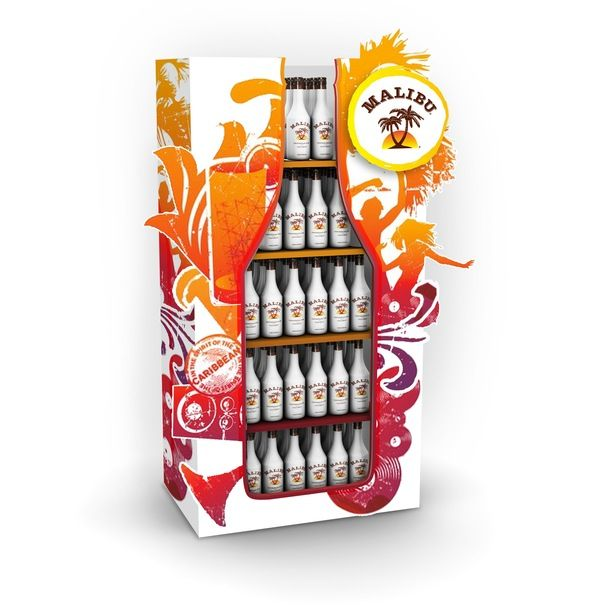 Retail Point of Purchase Design | POP Design | Alcohol & Soft Drinks POP | PERNOD RICARD ALCOHOL DISPLAYS by Robert Sindermann