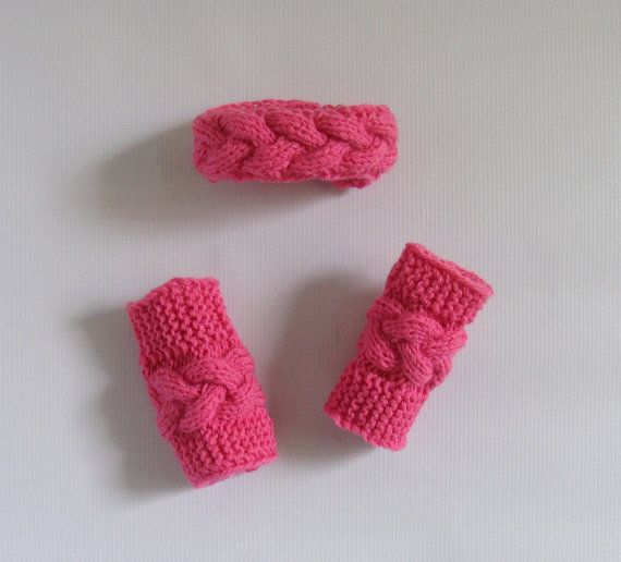 newborn headband &   legwarmerslegwarmer set by recyclingroom, $28.00