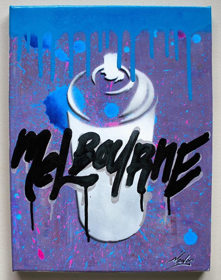 Me likes the colours  #streetart #urbanart #melbourne  www.mendo.com.au
