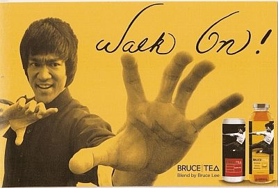 "Bruce Lee ""Walk On"" - special blend of  Ginseng, Royal Jelly, and Green Tea. Bruce Lee used these herbs to help develop his strength, stamina and immune system. Additional info about Astragalus as well. 3 Liquid Extracts That You Should Know , Bruce Lee Did. Astragalus, Ginseng, Royal Jelly."