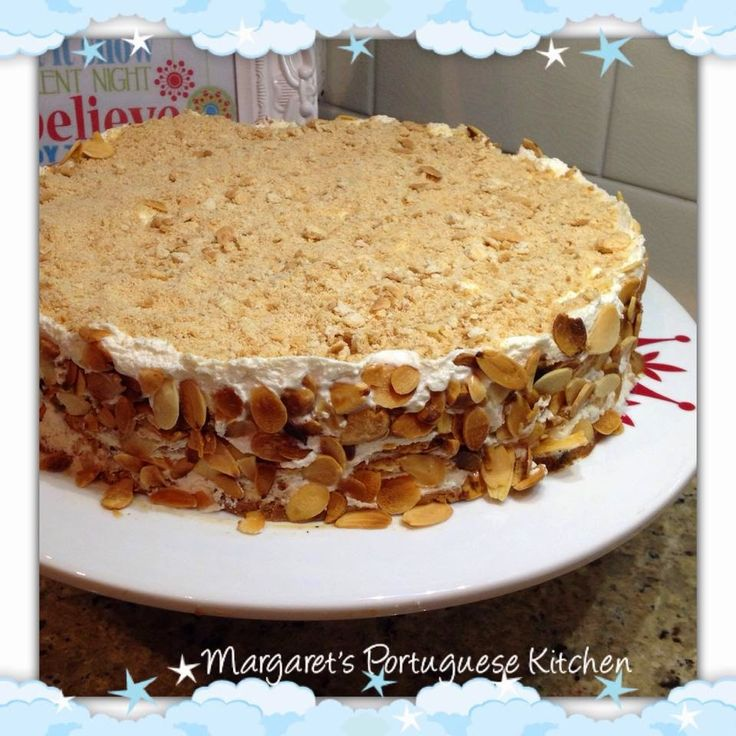 Margaret's Portuguese Kitchen : Maria biscuits & Coffee Cake /Semifri...