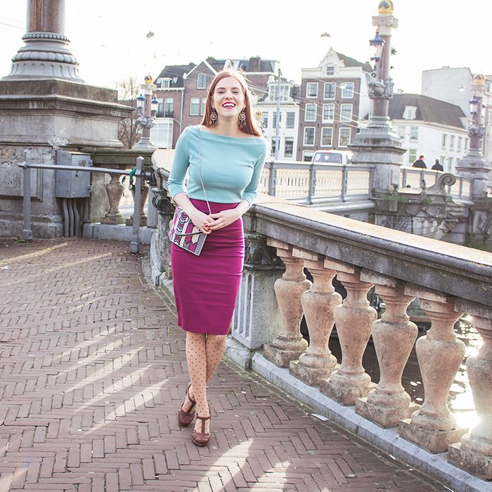 I've known the brand Bannou for a while, and I already got skirt there twice. It's a beautiful vintage inspired retro brand, which also has a fair production process and uses a lot of organic fabrics.