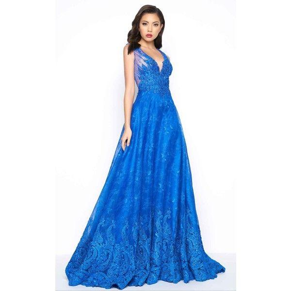 25+ best Royal blue evening gown ideas on Pinterest | Silver ...