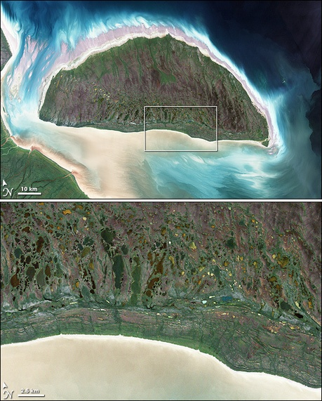Remote Sensing Image of the Day: Akimiski Island, Canada