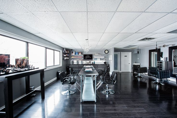 Modern salon design gina bianca hair in southington ct for A paul mitchell salon