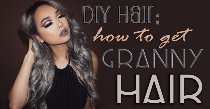 #grannyhair is a thing, and this is how you can get those long silver locks.