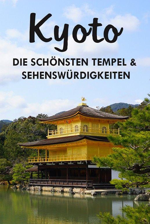 Kyoto zählt zu den schönsten und beliebtesten Städten in Japan. Auch wir waren 7 Tage vor Ort und haben uns von den bezaubernden Sehenswürdigkeiten, Tempelanlagen und den Geishas verzaubern lassen. In diesem Beitrag findest du 18 spannende Sightseeing Spots für deinen Aufenthalt. (Kinkaku-ji Tempel, Ginkakuji Tempel, Nijo Castle, Gion, Ninen Zaka und Sannen Zaka, Kiyomizu-dera Tempel, Ryozen Kannon Tempel, Philosophen Path, Pontocho Alley, Nishiki Market, Fushimi Inari Taisha Shrine)