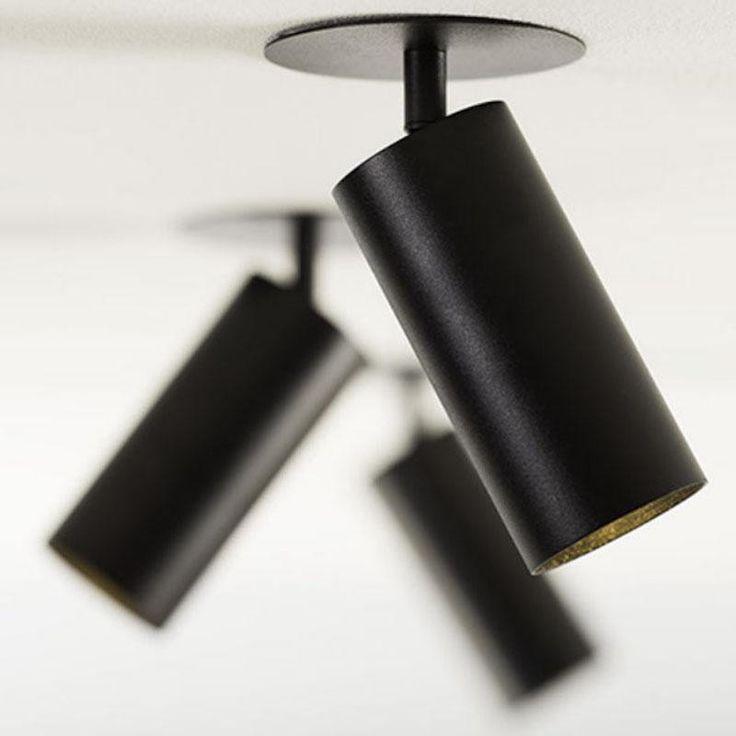 Nosta Viktor C1 Ø8 Spot zwart
