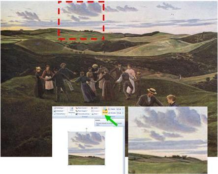 Wepaint.dk bruger computeren i den kreative proces i kurset Landskabsmaler