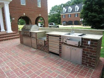 outdoor kitchen countertops ideas 25 best ideas about outdoor countertop on 21156