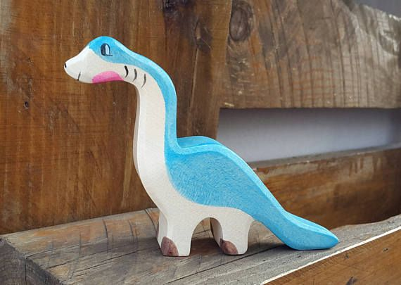 Wooden Dinosaur, Dino toys, Waldorf wood dino, pretend play toy, wooden toys, wooden Animals, Dinosaur toy, toys for kids, wooden dino