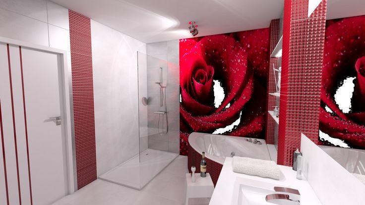 mieszkanie red style w Tarnowie