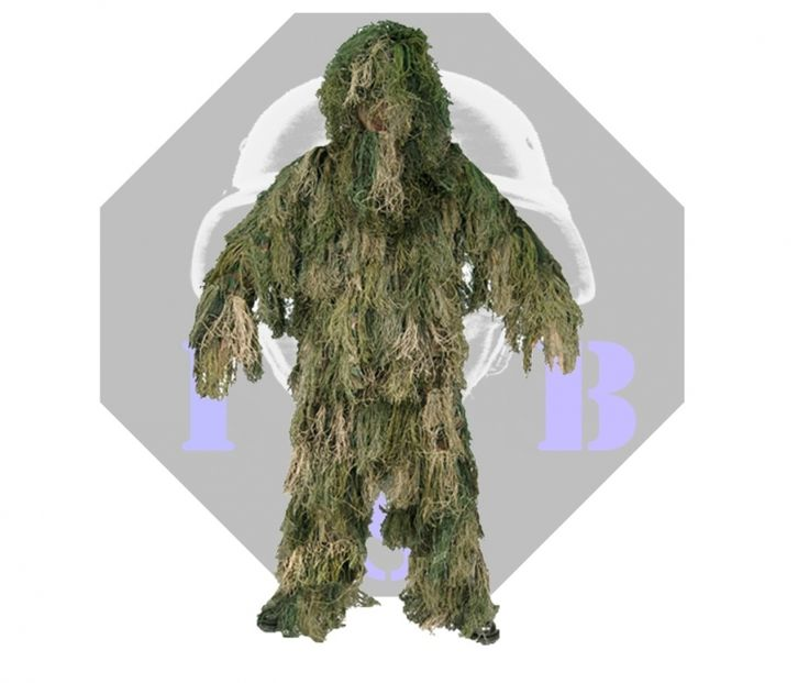 Woodland Ghillie Suit | Ghillie SUIT ANTI FUOCO WOODLAND MILTEC
