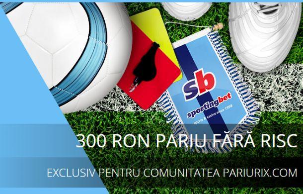 Articole Pariuri sportive pe PariuriX.com: Vrei să pariezi la Sportingbet? Citește cu mare atenție aici!