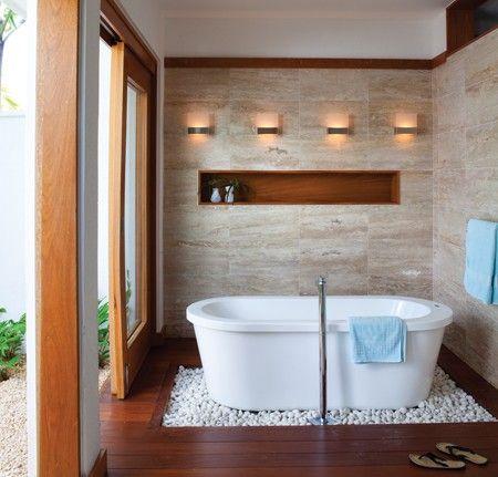 96 best images about dekor en doen dit self on pinterest for Spa retreat bathroom ideas