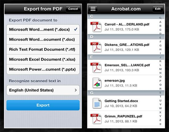 For any business or education, there is a need to access PDF files. You can find tons of apps for iPhone and iPad that lets you view PDF files.