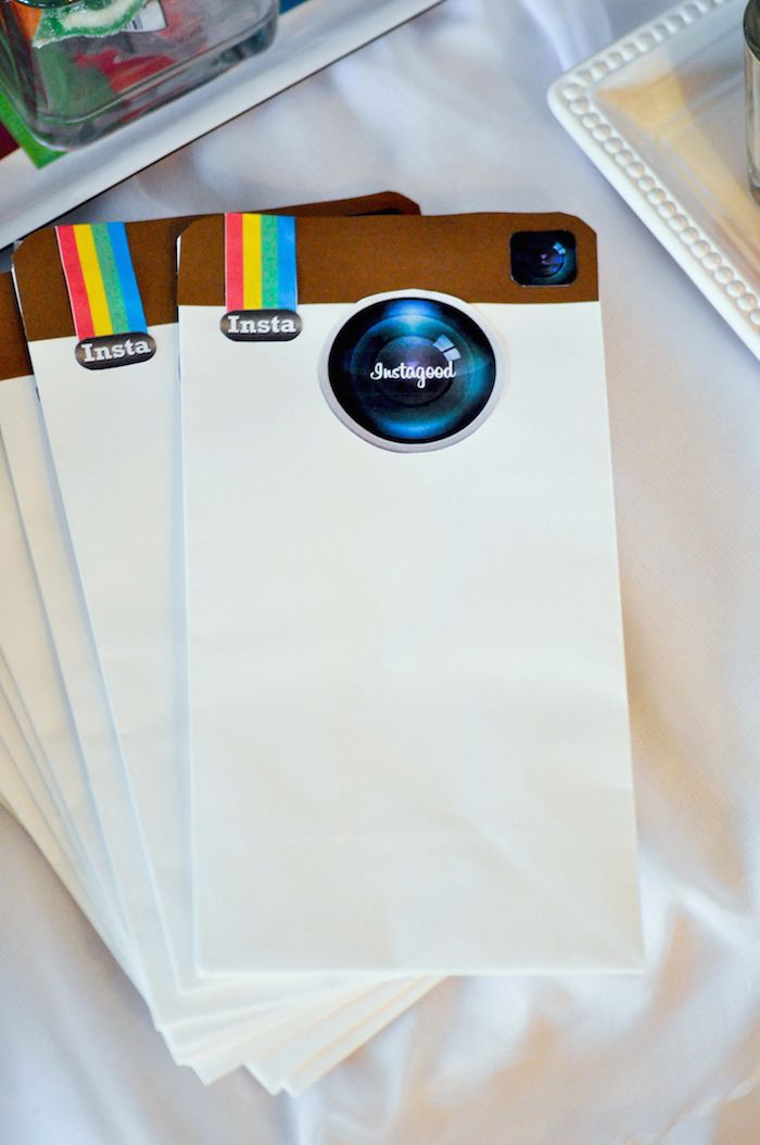 #Instagram Favor Bags #partyfavors #favorbags