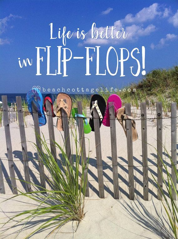 Day at the Beach Seaside Serendipity Flip by BeachCottageLife