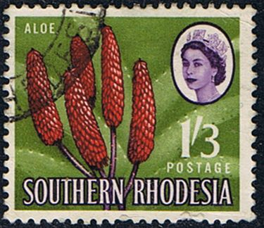 Southern Rhodesia 1964 SG100 Aloe Plant Fine Used SG 100 Scott 103 Other African Stamps ere