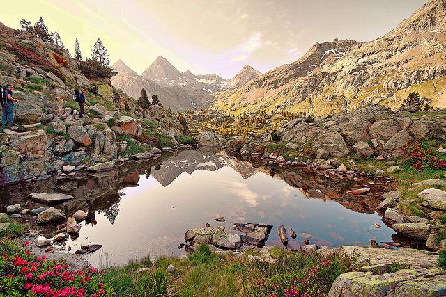世界遺産 ピレネー山脈-ペルデュ山(スペイン側) ピレネー山脈-ペルデュ山(スペイン側)の絶景写真画像  スペイン