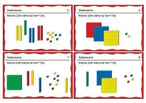 aufgabenkarten orientierung im tausenderraum lehrmittel perlen mathe unterrichten. Black Bedroom Furniture Sets. Home Design Ideas