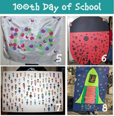 blog post full of 100th day of school ideas!