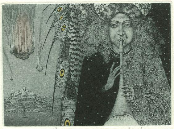 Konstantin Kalinovich, The second trumpet, Ex Libris: