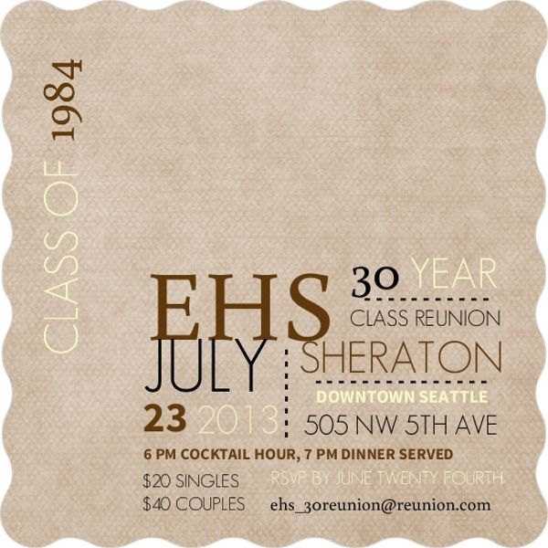74 best Class Reunion Ideas images on Pinterest Pocket - class reunion invitations templates