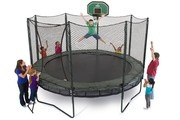 I still hope every year that I'll get a trampoline for my birthday...