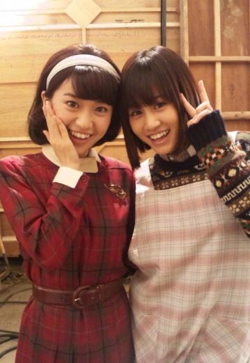 優子とあっちゃん (*´ω`*) #AKB48