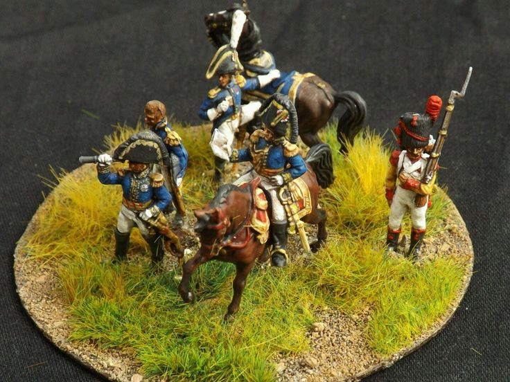 20mm 1 72 zvesda painted napoleonic french general staff