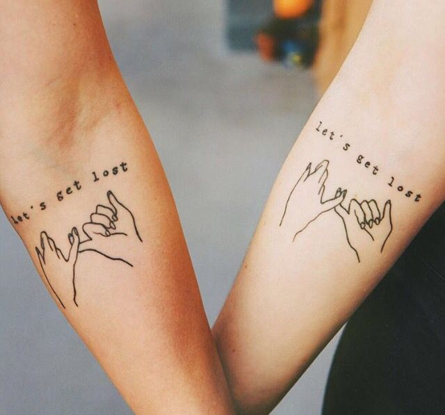 Friendship tattoo