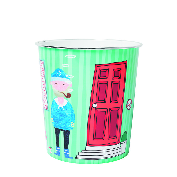 Taki kosz to ciekawa odmiana standardowego kubełka. #tigerpolska #tigerstore #kosz #kosznasmieci #kuchnia #kitchen #pokoj #room #childroom #pokojdzieciecy #backtoschool #child #children #trashcan #trash #smieci #container