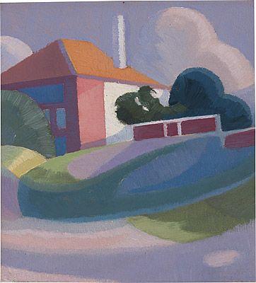 Roy DE MAISTRE, Colour sketch