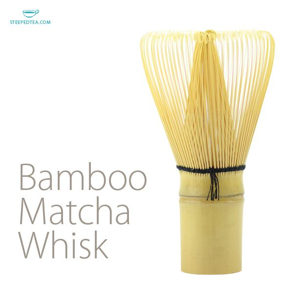 Whisk yourself away with a creamy signature matcha latte made with the perfect Bamboo Matcha Whisk.