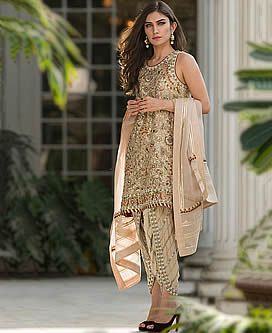 D6404 Stylish Party Dress for Evening and Formal Occasions Tulip Shalwar Dresses Asian Party Dresses Artesia California CA USA