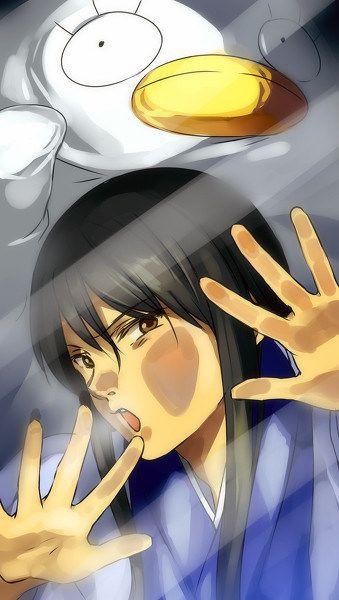 Gintama | Katsura | Elizabeth | Anime lock screen | Sfondi telefono