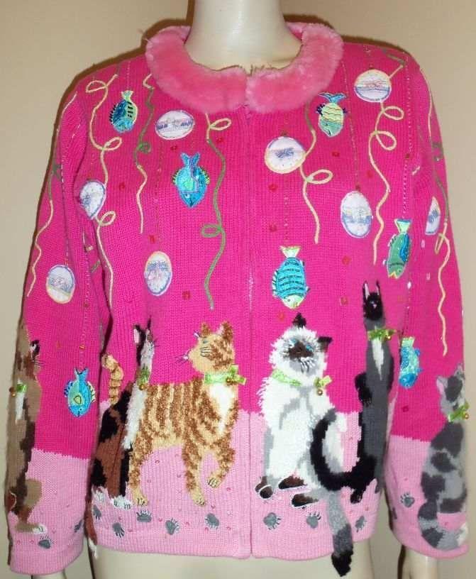 DESIGN OPTIONS Pink Christmas Cat Philip Jane Gordon Theme ...