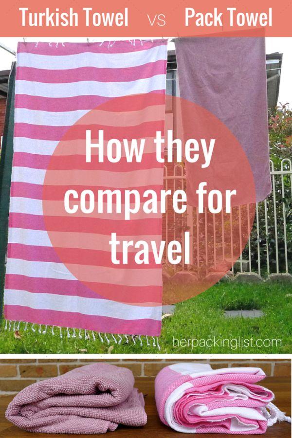 Quelle serviette choisir ?
