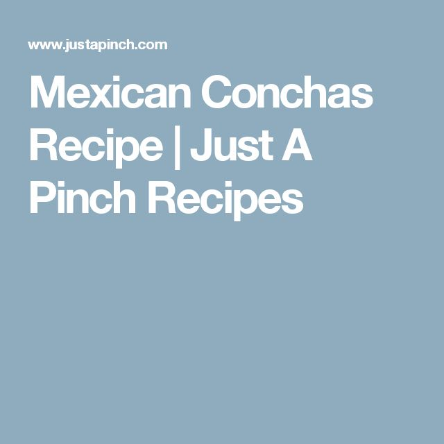 Mexican Conchas Recipe | Just A Pinch Recipes