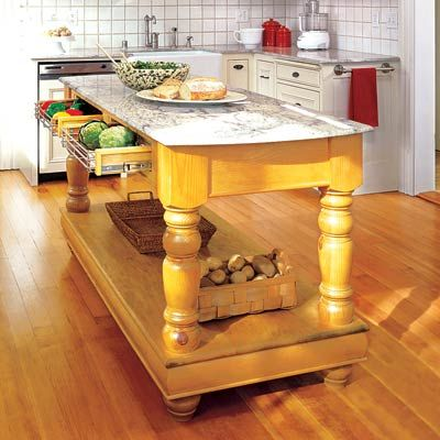 Photo: Rick Keating/Cornerhouse Stock | thisoldhouse.com | from All About Kitchen Islands: 5 Future Ideas, Islands Ideas, Photo