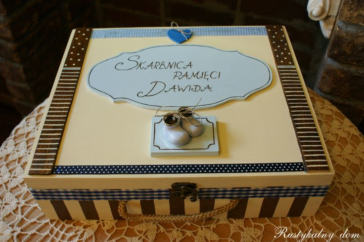 szkatułka dla malucha
