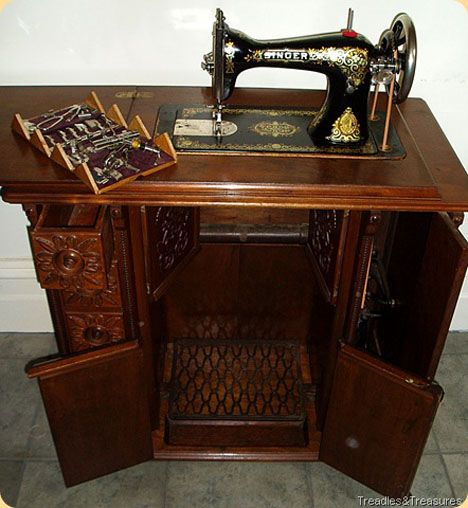 Dating old photographs singer sewing machines in cabinets