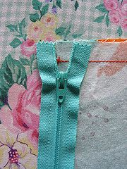 Installing a Zipper ~ Tutorial by Michelle | Sew Mama Sew | Outstanding sewing, quilting, and needlework tutorials since 2005.