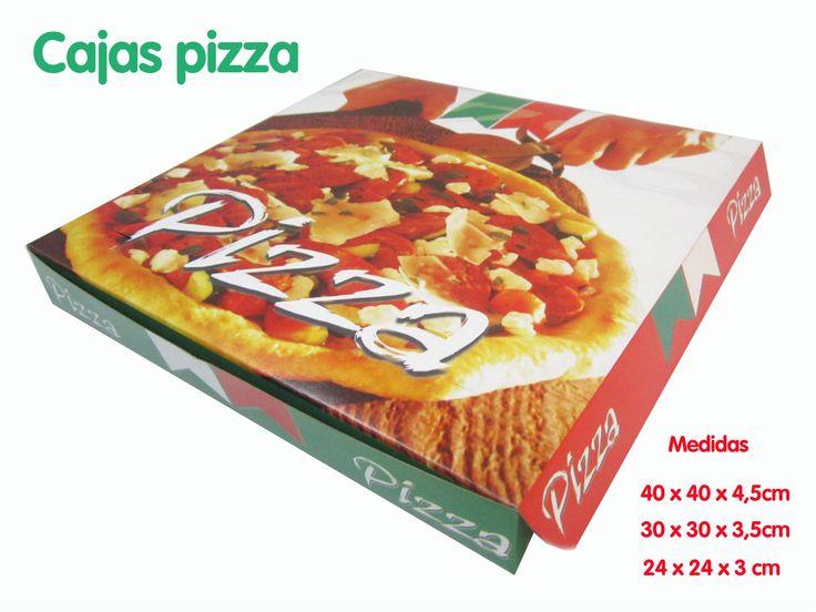 Cajas tus Pizzas...