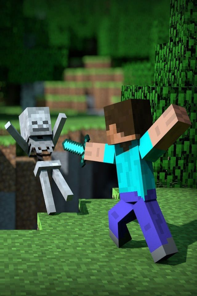 Sword fight | Funny Minecraft pictures | Pinterest | The o ...