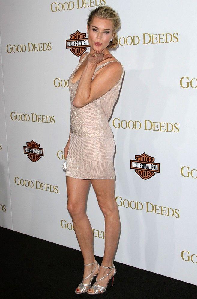 American Actress Rebecca Romijn