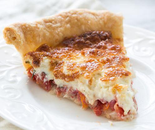 Τάρτα ντομάτας με τυριά