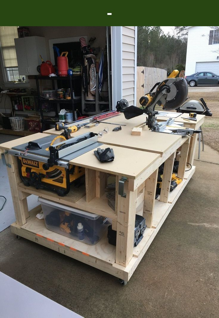 Bench Wood Garage Work Bench Diy Shopbench Dyibench Diybench Check Out The Webpage To Woodworking Bench Woodworking Bench Plans Woodworking Workbench